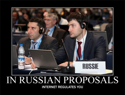 In Russian proposals internet regulates you